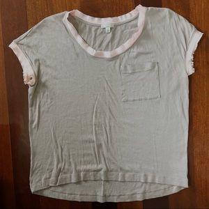 Gap Womens Pocket T-Shirt  Sz XS
